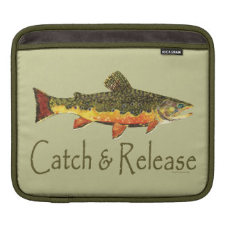 Catch & Release Trout Fishing Sleeve For iPads