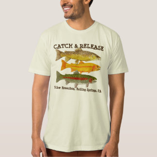 Catch & Release Yellow Breeches Apparel T-Shirt