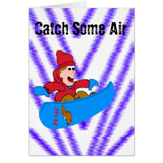 Catch Some Air Card