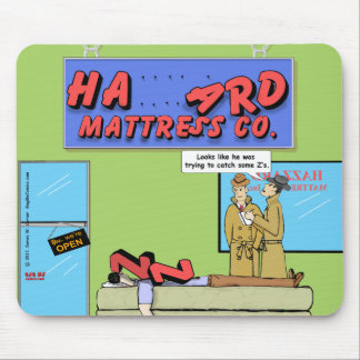 """Catch Some Z's"" Mouse Pad"