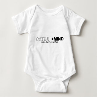 Catch The Positive Mind Baby Bodysuit