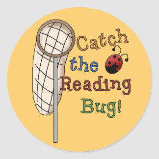 Catch the Reading Bug Stickers