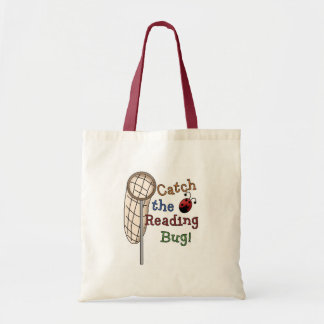 Catch the Reading Bug Tshirts and Gifts Budget Tote Bag