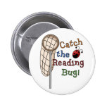 Catch the Reading Bug Tshirts and Gifts Buttons
