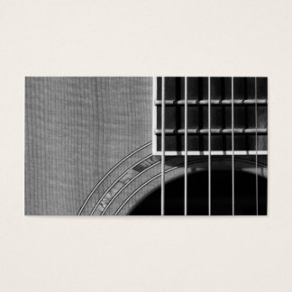 Catch the Rhythm - Grayscale 2 Business Card