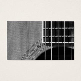 Catch the Rhythm - Grayscale 2 Business Card