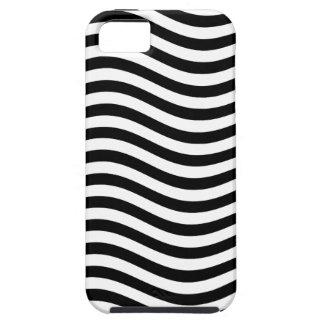 CATCH THE WAVE - BLACK ~ ~ iPhone SE/5/5s CASE