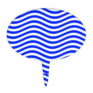 CATCH THE WAVE - BLUE COBBLER ~ ~ CAKE TOPPER