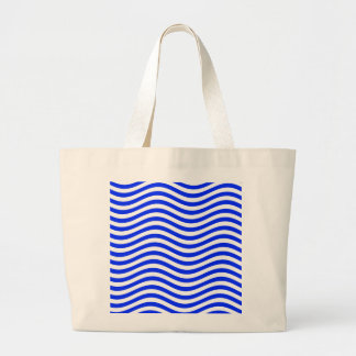CATCH THE WAVE - BLUE COBBLER ~ ~ LARGE TOTE BAG