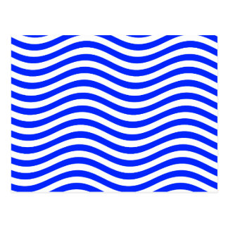 CATCH THE WAVE - BLUE COBBLER ~ ~ POSTCARD