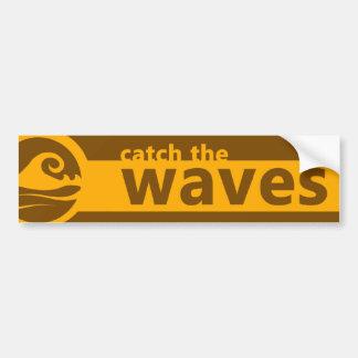 Catch The Wave Bumper Sticker