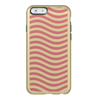 CATCH THE WAVE - CORAL PINK ~ ~ INCIPIO FEATHER® SHINE iPhone 6 CASE