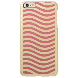 CATCH THE WAVE - CORAL PINK ~ ~ INCIPIO FEATHER® SHINE iPhone 6 PLUS CASE