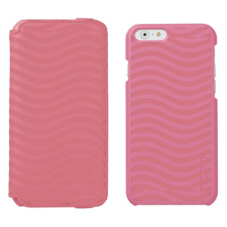 CATCH THE WAVE - CORAL PINK ~ ~ iPhone 6/6S WALLET CASE