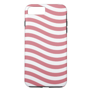 CATCH THE WAVE - CORAL PINK ~ ~ iPhone 7 PLUS CASE