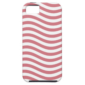 CATCH THE WAVE - CORAL PINK ~ ~ iPhone SE/5/5s CASE