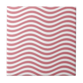 CATCH THE WAVE - CORAL PINK ~ ~ TILE