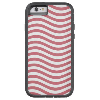 CATCH THE WAVE - CORAL PINK ~ ~ TOUGH XTREME iPhone 6 CASE