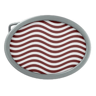 CATCH THE WAVE - DEEP RED ~ ~ BELT BUCKLE