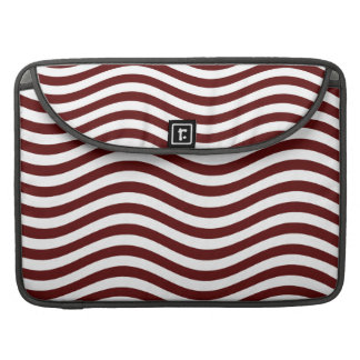 CATCH THE WAVE - DEEP RED ~ ~ MacBook PRO SLEEVE