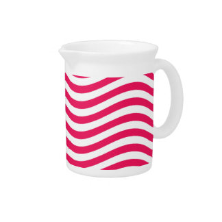 CATCH THE WAVE - HOT PINK ~ ~ BEVERAGE PITCHER