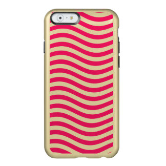 CATCH THE WAVE - HOT PINK ~ ~ INCIPIO FEATHER® SHINE iPhone 6 CASE