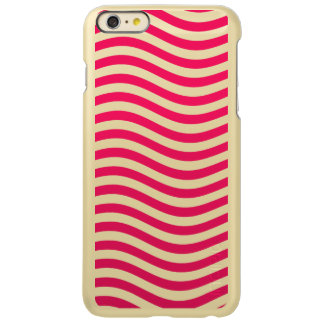 CATCH THE WAVE - HOT PINK ~ ~ INCIPIO FEATHER® SHINE iPhone 6 PLUS CASE