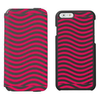 CATCH THE WAVE - HOT PINK ~ ~ iPhone 6/6S WALLET CASE