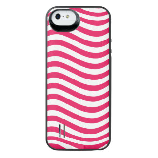 CATCH THE WAVE - HOT PINK ~ ~ iPhone SE/5/5s BATTERY CASE