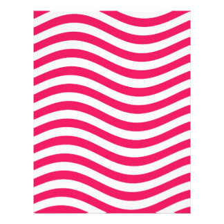 CATCH THE WAVE - HOT PINK ~ ~ LETTERHEAD