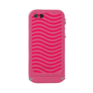 CATCH THE WAVE - HOT PINK ~ ~ WATERPROOF CASE FOR iPhone SE/5/5s
