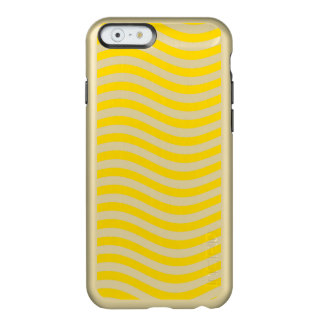 CATCH THE WAVE - LEMON MERINGUE ~ ~ INCIPIO FEATHER SHINE iPhone 6 CASE