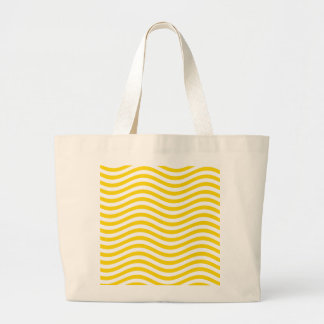 CATCH THE WAVE - LEMON MERINGUE ~ ~ LARGE TOTE BAG