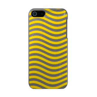 CATCH THE WAVE - LEMON MERINGUE ~ ~ METALLIC iPhone SE/5/5s CASE