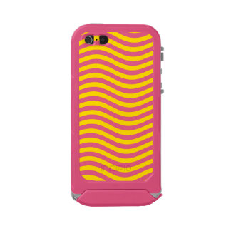 CATCH THE WAVE - LEMON MERINGUE ~ ~ WATERPROOF CASE FOR iPhone SE/5/5s