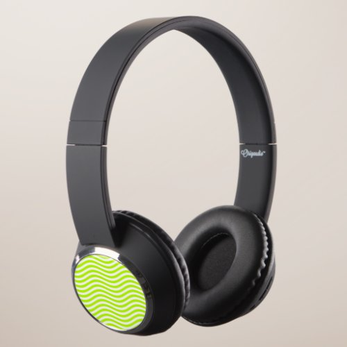 CATCH THE WAVE - LIME GREEN ~ ~ HEADPHONES