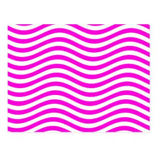 CATCH THE WAVE - MAGENTA ~ ~ POSTCARD