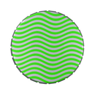 CATCH THE WAVE - NEON GREEN ~~ CANDY TIN