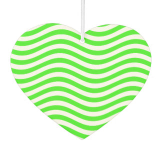 CATCH THE WAVE - NEON GREEN ~~ CAR AIR FRESHENER