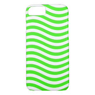 CATCH THE WAVE - NEON GREEN ~~ iPhone 8/7 CASE