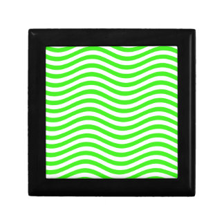 CATCH THE WAVE - NEON GREEN ~~ JEWELRY BOX