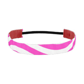 CATCH THE WAVE - NEON PINK ~~ ATHLETIC HEADBANDS