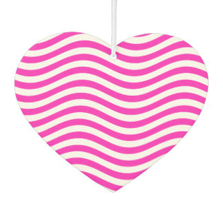 CATCH THE WAVE - NEON PINK ~~ CAR AIR FRESHENER
