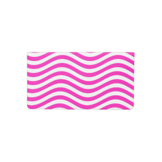 CATCH THE WAVE - NEON PINK ~~ CHECKBOOK COVER