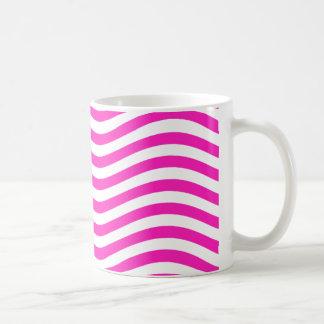 CATCH THE WAVE - NEON PINK ~~ COFFEE MUG