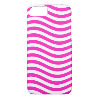 CATCH THE WAVE - NEON PINK ~~ iPhone 8/7 CASE