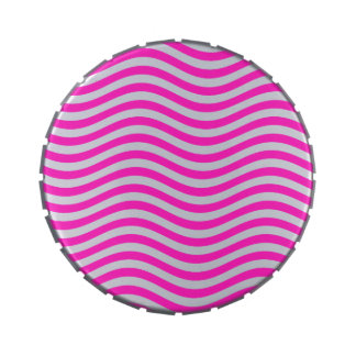 CATCH THE WAVE - NEON PINK ~~ JELLY BELLY CANDY TIN