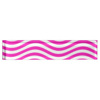 CATCH THE WAVE - NEON PINK ~~ NAMEPLATES