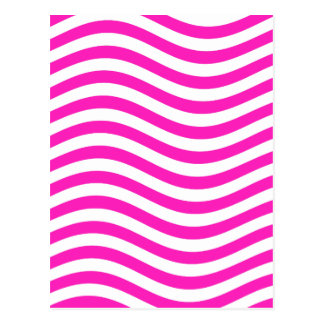 CATCH THE WAVE - NEON PINK ~~ POSTCARD
