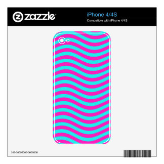 CATCH THE WAVE - PASTEL EGG ~~ DECALS FOR iPhone 4